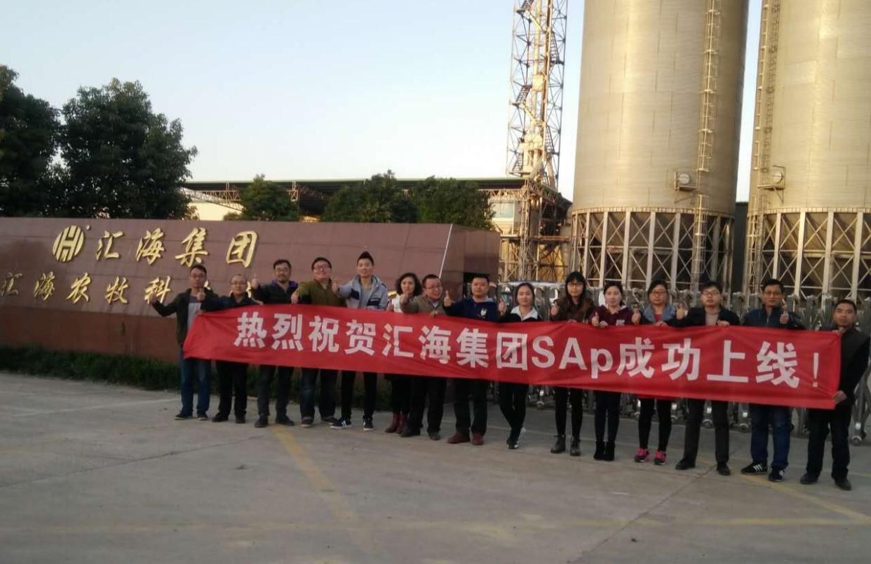 热烈祝贺乐虎国际维一官网集团又3个公司SAP·ERP项目隆重上线