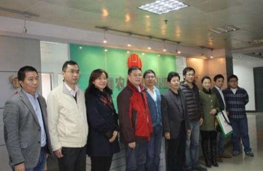播恩集团领导到乐虎国际维一官网考察交流