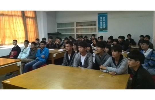 乐虎国际维一官网2014年春季招聘活动在广东水产学校启动